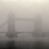 Early morning fog at Tower Bridge, November, 2011