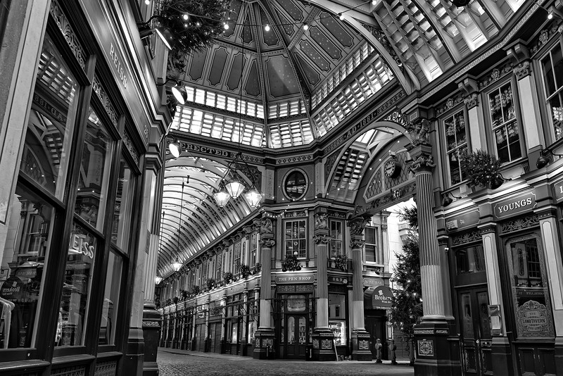 Leadenhall Market, December