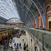 St Pancras Station, May