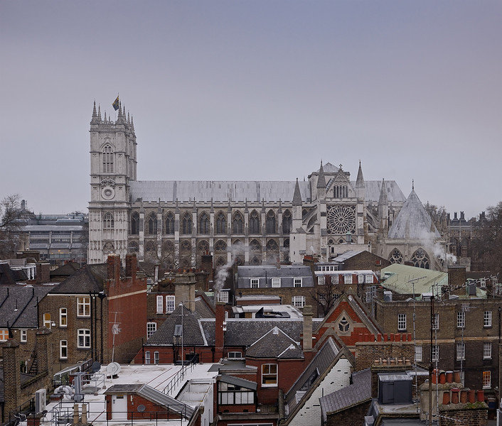 Westminster Abbey, January