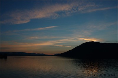 Gulf Islands at Sunset