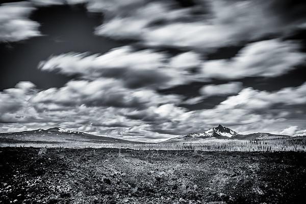 Lava Field, Mount Washington to the right