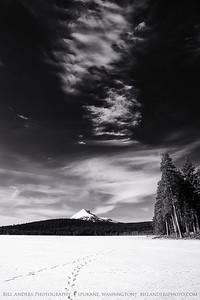 Icy Mount McLoughlin