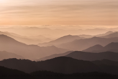 Sunset Ridgelines