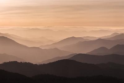 Sunset Ridgelines