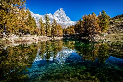 Lago Blu Reflection