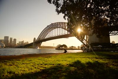 The Sydney Harbor Bridge