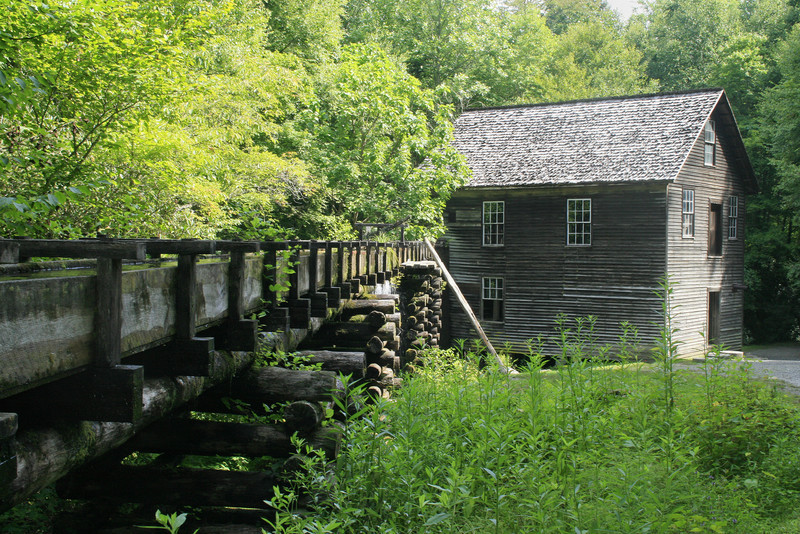 Mingus Mill, Great Smoky Mountains National Park   Old version. Newest is next.