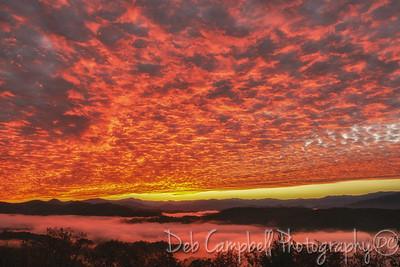 Altocumulous Clouds Sunrise