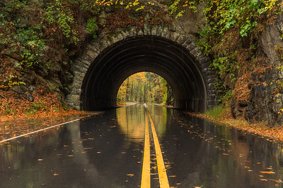 Laurel Creek Road Tunnel Reflections