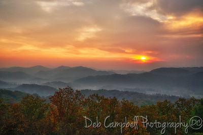 Smoky Mountain Smoky Sunrise