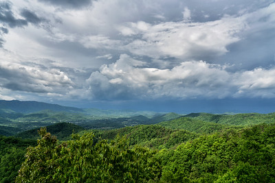 Stormy Skies over the Smokies