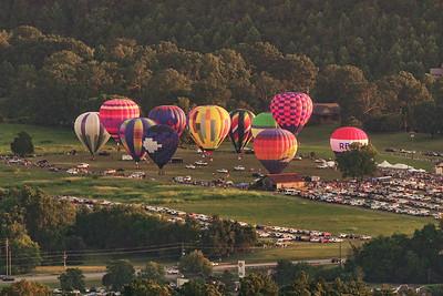 The Great Smoky Mountain Hot Air Balloon Festival