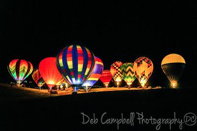 Muscadine Balloon Fiesta Glow 2016