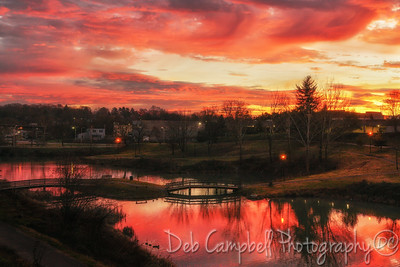 Sunrise over the Greenbelt