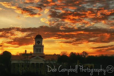 Sunrise at the Courthouse