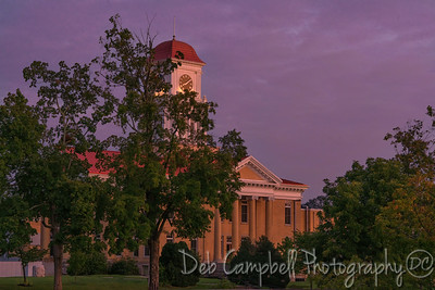 Twilight at the Blount County Courthouse