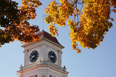 Blount County Courthouse in Autumn