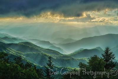 Layers and Light Rays over the Smokies