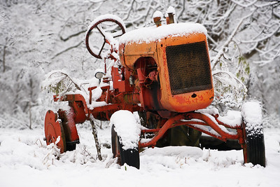 Snowy Tractor