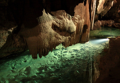 Underground River - Jenolan Caves, Blue Mountains, New South Wales