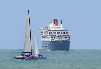 Camira and Queen Mary 2