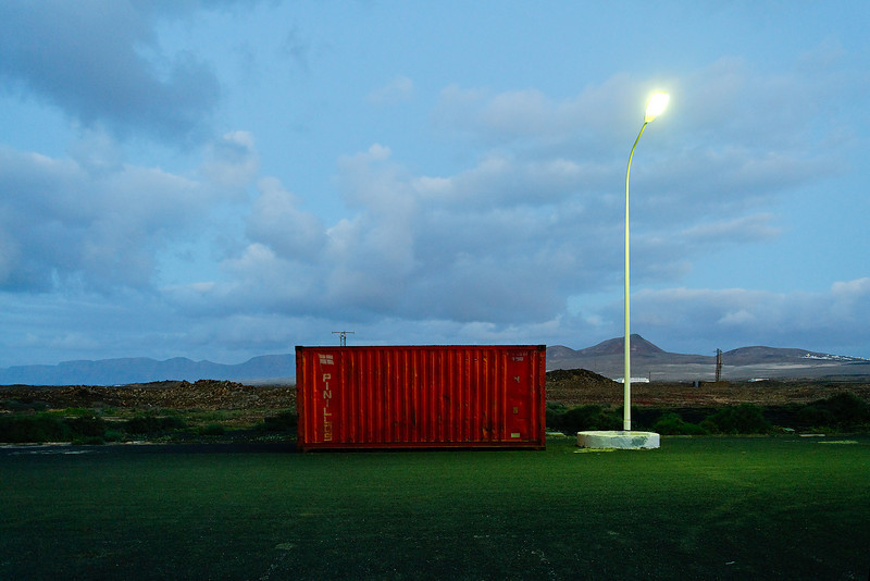 Red container, Lanzarote