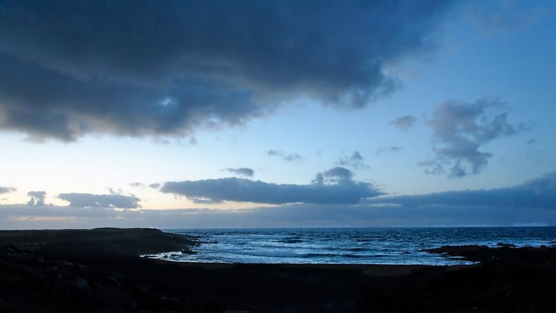 Blue sea, Lanzarote
