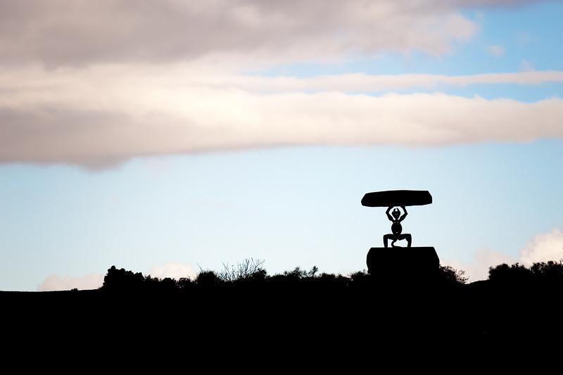 Devil in the sky, Lanzarote