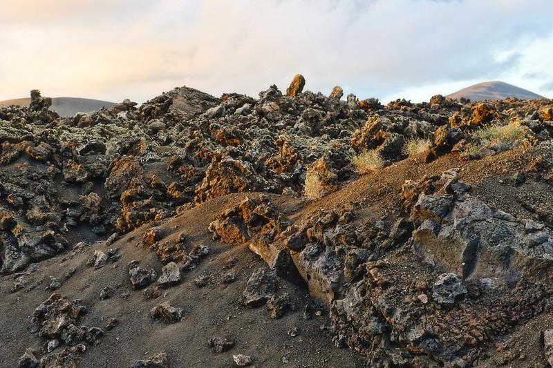 Lava structures, Lanzarote