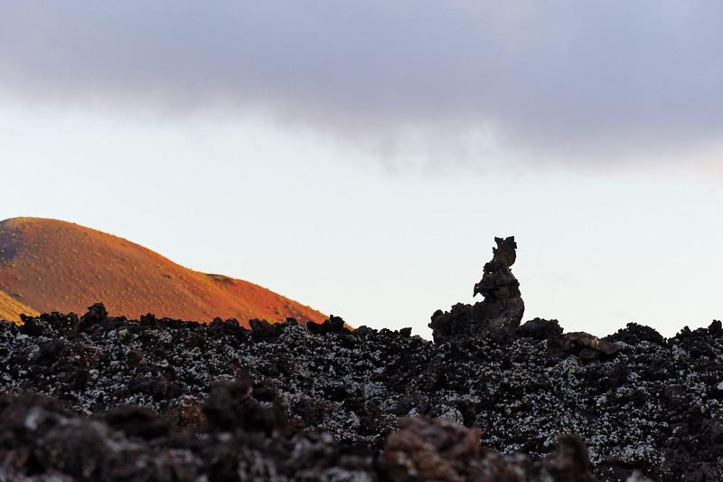 Statue of lava, Lanzarote