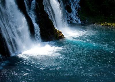 Burney Falls at mid-day
