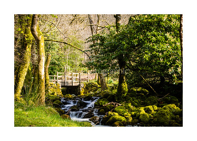 Bridge over the river by Minfford Path Cadair Idris