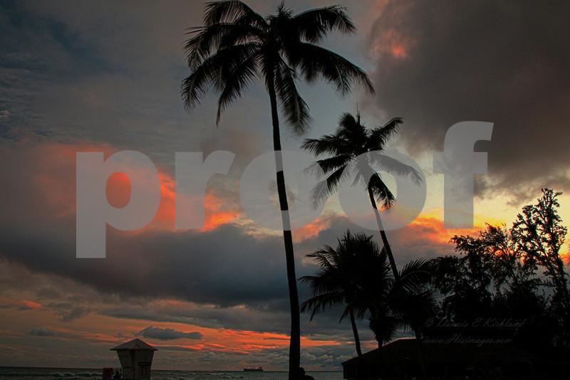 Oahu Sunset.