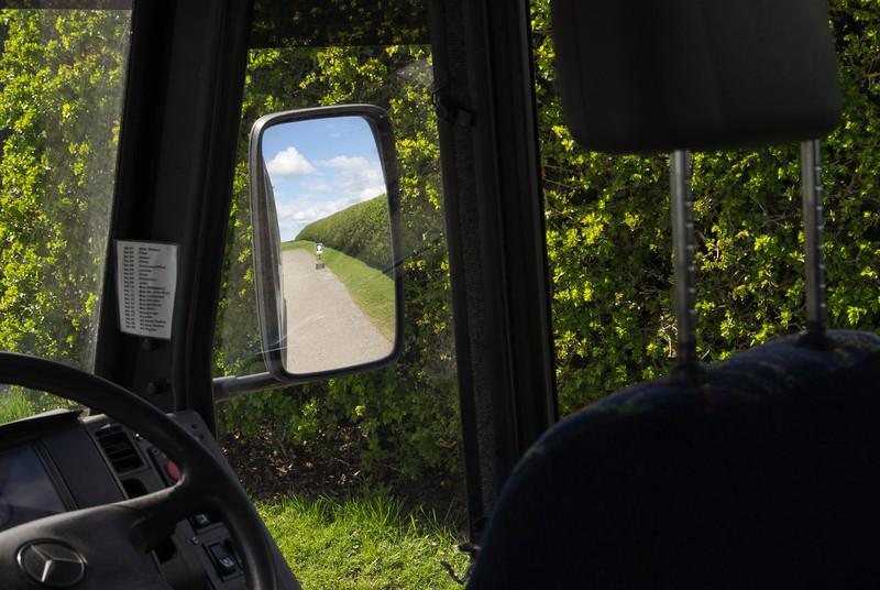 Bus at Newgrange