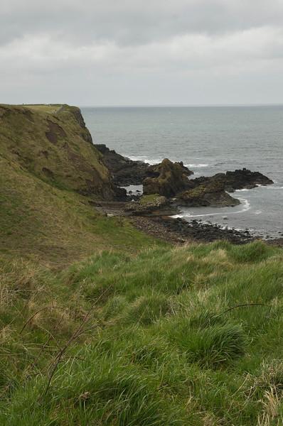 vista near Dunluce Castle, Northern Ireland
