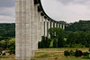 Viaducts on A28 near Rouen in France
