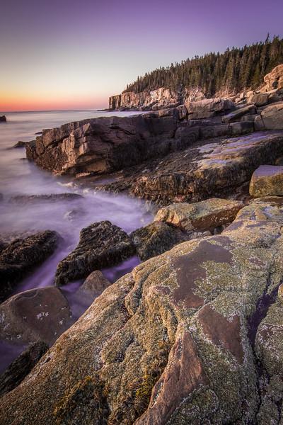 Dawn at Acadia National Park