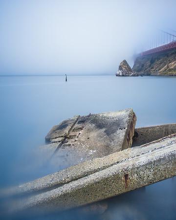 The Bridge is Implied. San Fransisco