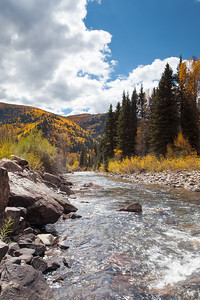 Dolores River In The Fall