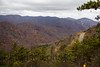 View From Appalachian Trail - SNP with Skyline Dr on right