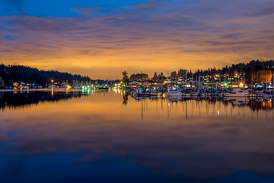 Gig Harbor, Washington ~ Sunrise