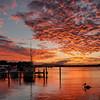 Noosaville sunset. Queensland.