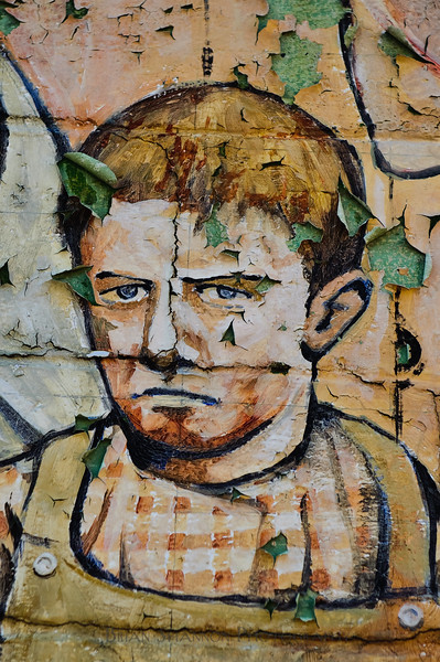 Sad boy wall art