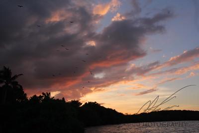 Sunset in Biscayne National Park