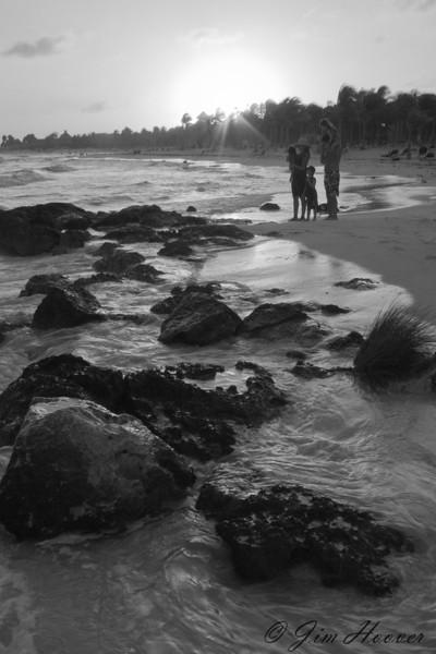 Sunset on the Riviera Maya