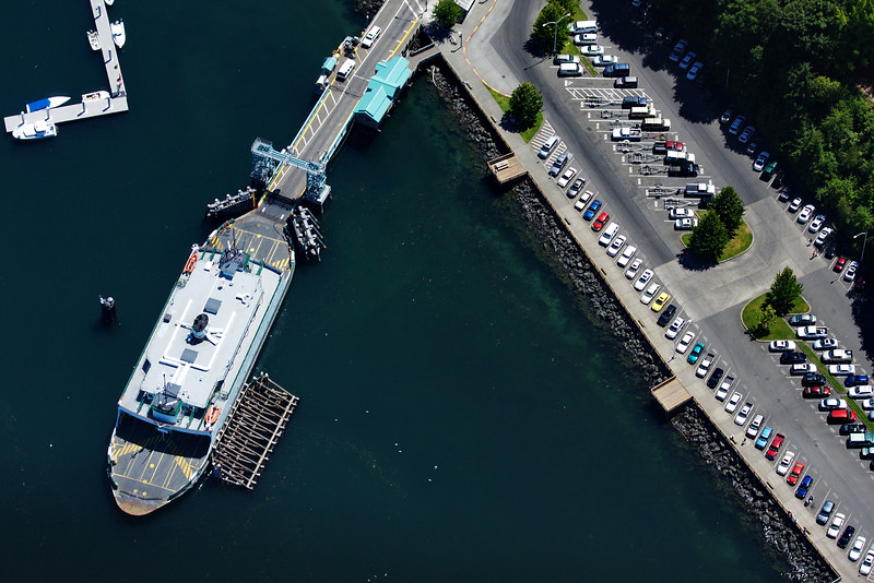 Point Defiance, Tacoma, Washington<br /> Ferry to Vashon Island