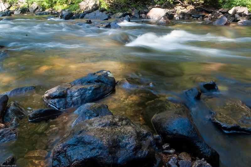Rapids on the Encampment River