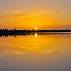 Sunrise on the Peace River