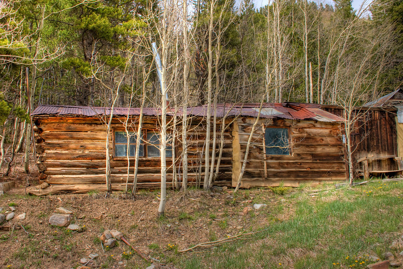 Breckenridge miner cabin